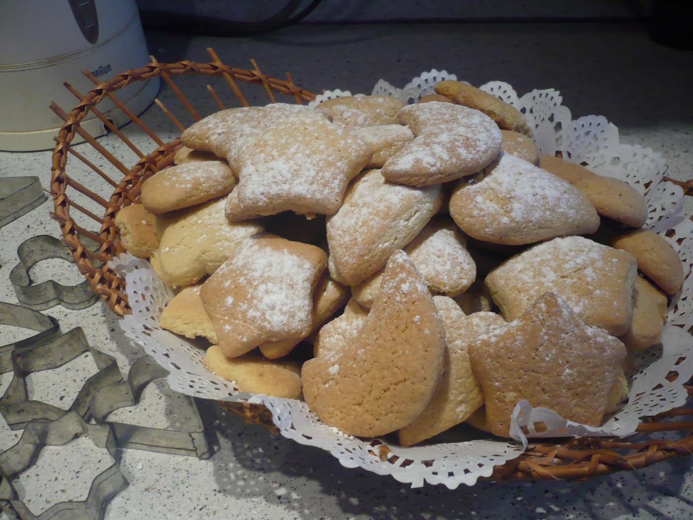 Фигурные печенье рецепт пошагово в духовке